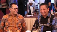 Ketua DPW Nasdem Sulsel Rusdi Masse saat bersama Ramdhan Pomanto beberapa waktu lalu. (Int)