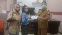 Alivany Ver Khadijah bersiap mengikuti Pelatnas panjat tebing mewakili FPTI Sulsel. (Ist)