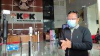 Andi Sudirman Sulaiman saat menghadiri pemeriksaan di KPK, 23 Maret 2021 lalu. (Int)