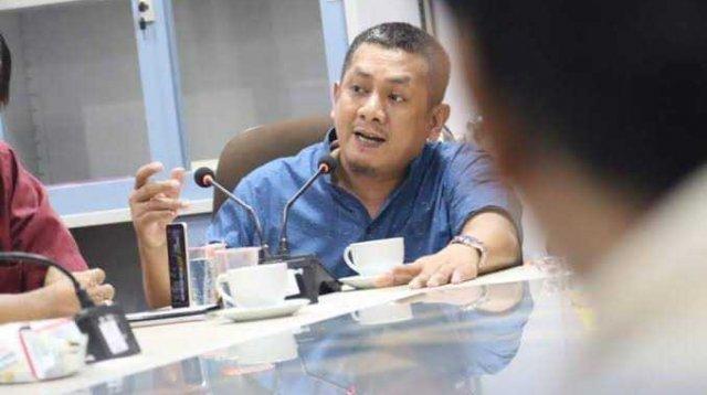 Anggota DPRD Makassar Azwar. (Int)