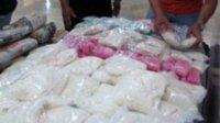 Bandar narkoba yang ditembak di Bone membawa sabu seberat 89 kilogram disimpan dalam tujuh karung. (Int)
