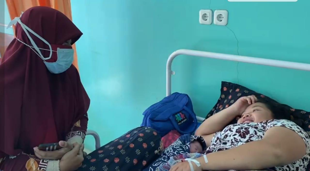 Bayi pertama di Rumah Sakit Ibu dan Anak (RSIA) Zainab diberi nama Ikrimah. (Ist)