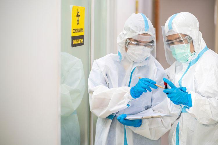Dana Insentif tenaga kesehatan urung dicairkan, meski meski masa pandemi telah berlangsung lima bulan. (Ilustrasi Int)