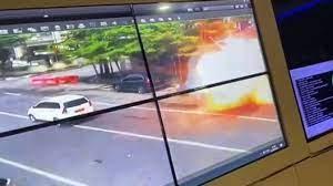 Bom bunuh diri terjadi di depan Gereja Katedral Makassar, Minggu 28 Maret 2021. (Ist)
