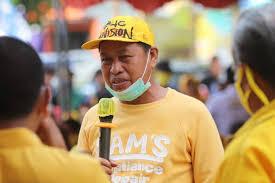 Bupati Pangkep Syamsuddin Hamid. (Int)