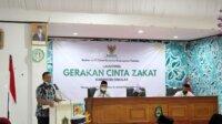Bupati Takalar Syamsari Kitta di acara Badan Amal Zakat Nasional (Baznas), Kamis 22 April 2021. (Ist)