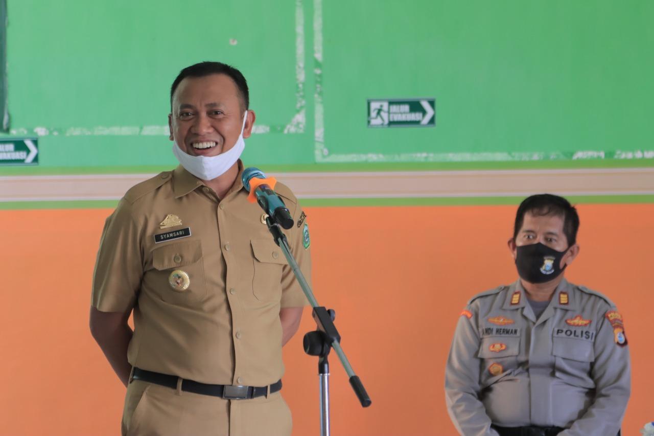 Bupati Takalar Syamsari Kitta terus mendukung kebangkitan pelaku usaha di tengah pandemi Covid 19. (Dok)
