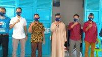 DPD Partai Gelora Takalar berbagi 1000 masker sebagai upaya memutus mata rantai Covid 19. (Ist)