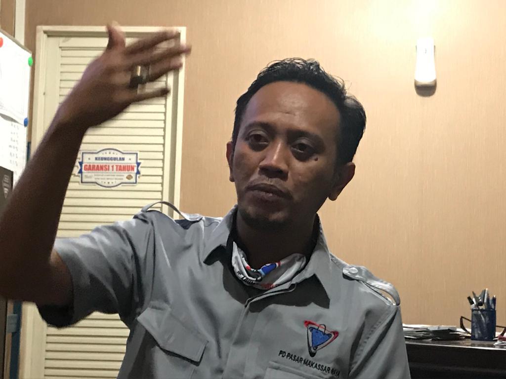 Dirut PD Pasar Makassar Basdir. (Manifesto)