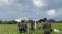 Gandeng KPK, Pemprov Sulsel amankan tanah tumbuh aset negara di Barombong, Makassar, Jumat 15 Oktober 2021. (Ist)
