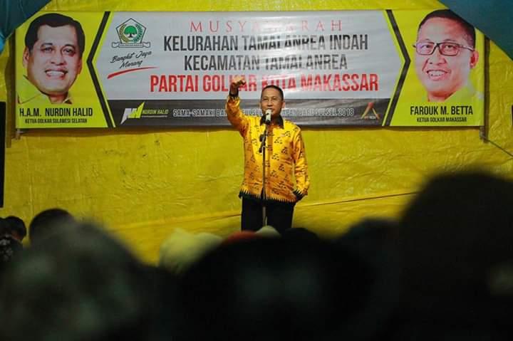 Golkar Makassar solid mendukung Irman YL usai penetapan usungan di DPP Partai Golkar, Selasa 30 Juni 2020. (Ist)