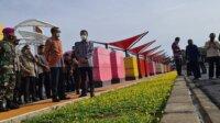 Gubernur Resmikan Amphi Theatre Pelebaran Jalan Metro Tanjung Bunga. (Ist)