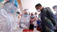Gubernur Sulsel Nurdin Abdullah menggagas rapid test gratis untuk warga, Sabtu 4 Juli 2020. (Int)
