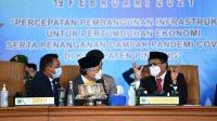Gubernur Sulsel Nurdin Abdullah menghadiri HUT 61 Pinrang, Rabu 19 Februari 2021. (Ist)