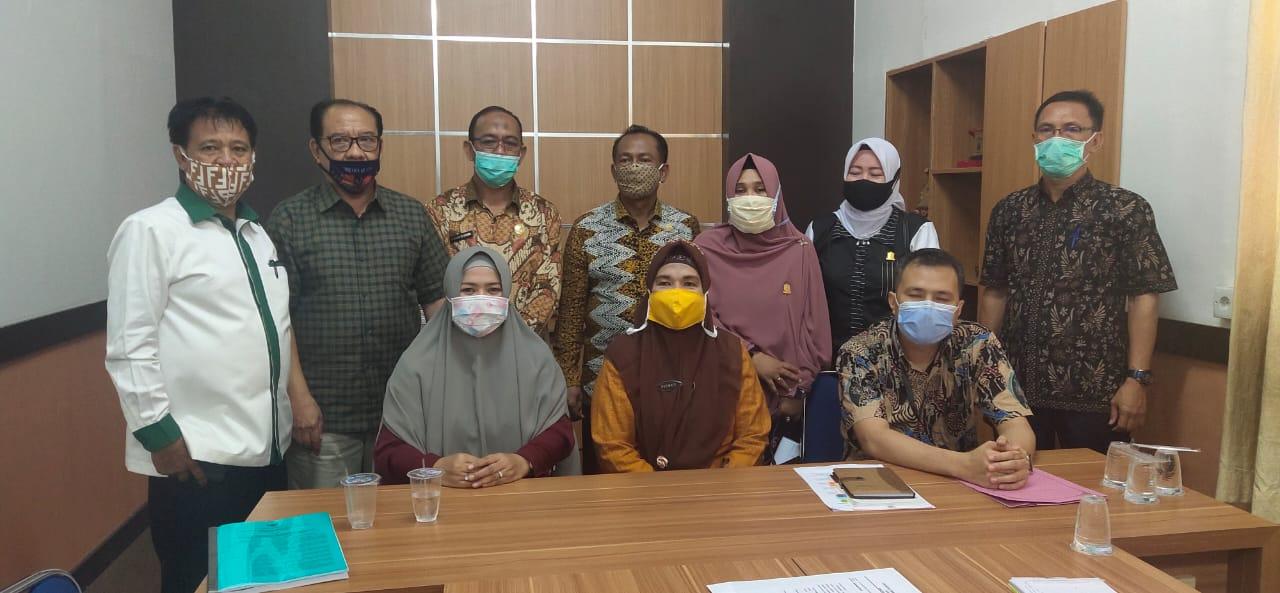 Anggota DPRD Takalar berkonsultasi di Biro Pemerintahan Pemprov Sulsel terkait pengajuan hak angket, Kamis 8 Oktober 2020. (Ist)
