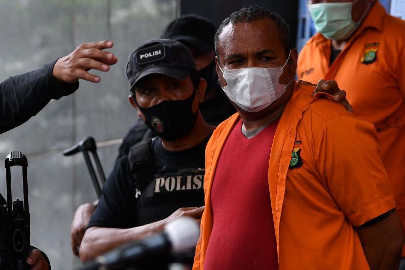 John Kei kembali ditangkap usai terlibat pembunuhan di Tangerang, Banten, Minggu 24 Juni 2020. (Ist)