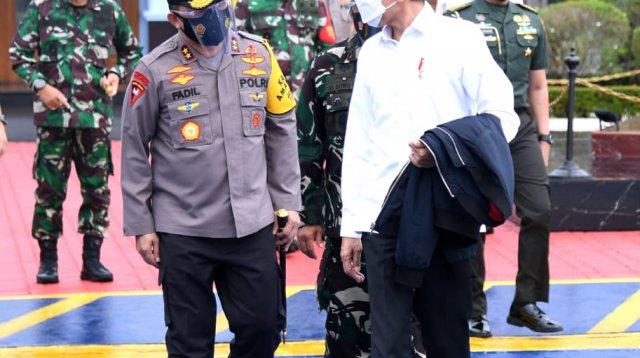 Jokowi akan mengunjungi korban gempa di Sulbar, Selasa 19 Januari 2021. (Ist)