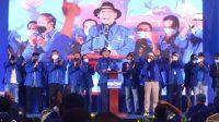 KLB menetapkan Moledoko sebagai Ketum DPP Partai Demokrat. (Int)