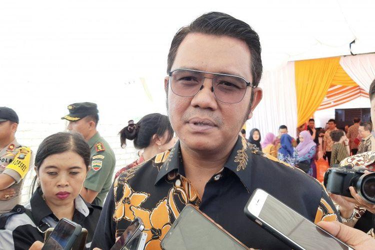 KPK menetapkan Bupati Bintan Apri Sujadi sebagai tersangka kasus korupsi bea cukai, Kamis 12 Agustus 2021. (Int)