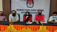 KPU Makassar telah mengumumkan jumlah DPS di Pilwali Makassar. (Int)