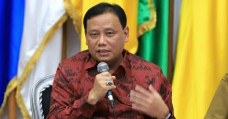 Ketua Bawaslu RI Abhan. (Int)