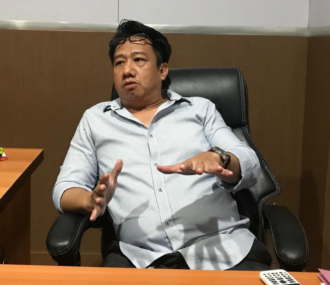 Ketua Komisi B DPRD Makassar William Lauren. (Manifesto)