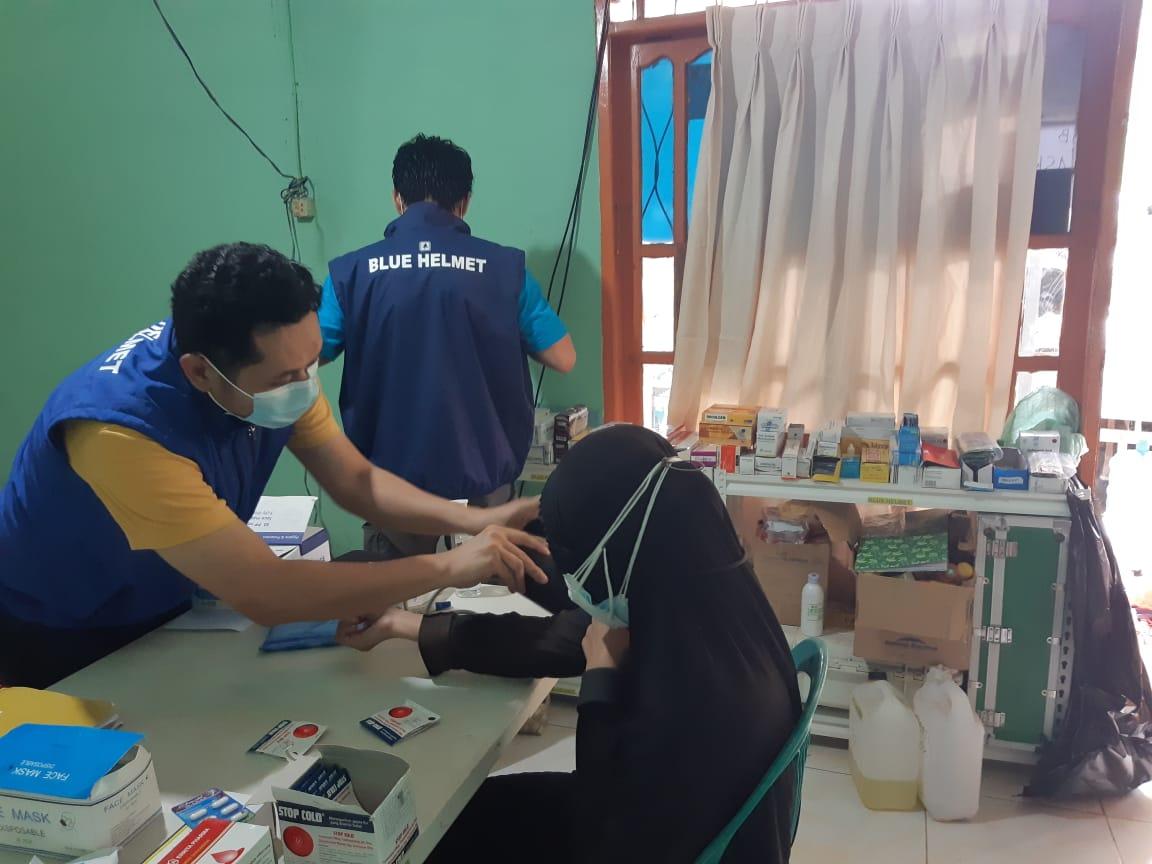 Klinik Paryai Gelora di Mamuju, Sulbar melayani warga 24 jam. (Ist)