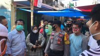 Komiai B DPRD Makassar melakukan sidak di Pasar Bacan, Sabtu 22 Agustus 2020. (Ist)