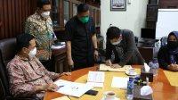 Komisi Pemilihan Umum (KPU) bersama Pemerintah Kota Makassar meneken Addendum Nota Perjanjian Hiba Daerah (NPHD) untuk Pemilihan Walikota dan Wakil Walikota tahun 2020. (Ist)