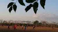 Lapangan di Ongkoa, desa Laikang, Mangarabombang yang selama ini digunakan sebagai sarana olahraga warga diklaim sebagai lahan milik PTPN XIV. (Manifesto)