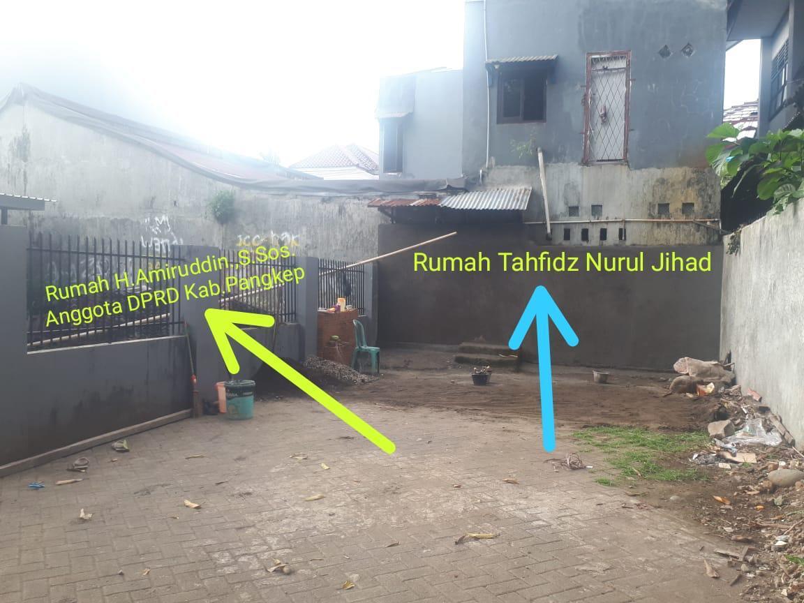 Oknum-legislator-di-Makassar-menembok-akses-masuk-ke-rumah-tahfidz-karena-tak-tahan-mendengar-suara-anak-anak-mengaji.-Ist.