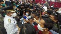 PJ Walikota Makassar Yusran Jusran sesaat usai dlantik, 13 Mei 2020. (Ist)