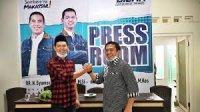 Pasangan Syamsu Rizal- Fadli Ananda (Dilan) di Pilwali Makassar. (Int)