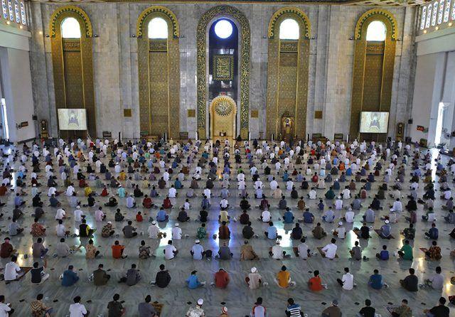 Pemkab Takalar membolehkan warga melaksanakan salat Idul Adha di masjid, tetapi dengan protokol kesehatan. (Ilustrasi Int)