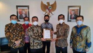 Penyerahan secara resmi Bandara Sorowako dari PT Vale Indonesia ke Pemprov Sulsel, Jumat 30 April 2021. (Dok)