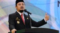 Plt Gubernur Andi Sudirman saat memberikan orasi ilmiah pada wisuda Universitas Muhammadiyah Makassar, Selasa 15 Juni 2021. (Ist)
