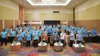 Plt Gubernur Andu Sudirman dan Walikota Makassar di acara konsoldasi Partai Gelora Sulsel beberapa waktu lalu. (Ist)