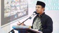 Plt Gubernur Sulsel Andi Sudirman Sulaiman membuka STQH di Sidrap lewat virtual, Kamis 3 Juni 2021 malam. (Int)