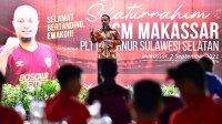 Plt Gubernur Sulsel Andi Sudirman Sulaiman mendukung PSM menjuarai Liga Indonesia. (Ist)
