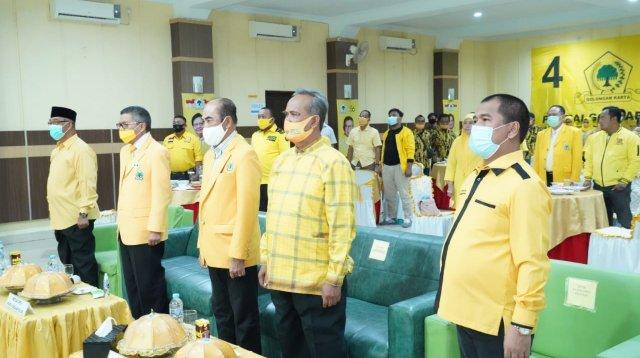Puncak perayaan HUT Golkar digelar di Parepare, Sabtu 24 Oktober 2020. (Ist)