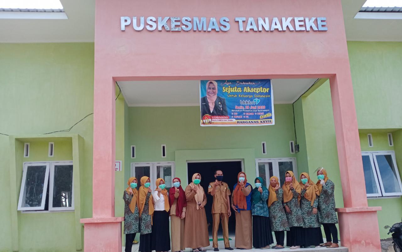Puskesmas Tanakeke, Takalar kini siap beroperasi maksimal pasca menerima nomor register. (Ist)