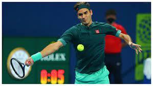 Roger Federer. (Int)