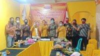 Sat Intelkam Polrestabes Makassar bertemu dengan pengurus DPC Partai Hanura Makasar, Sabtu 5 September 2020. (Ist)