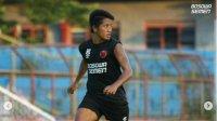 Striker PSM Makassar Bayu Gatra. (Int)
