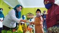 TP PKK Makassar merayakan ultah istri Gubernur Sulsel di Panti Asuhan Nahdiyat Makassar, Rabu 1 Juni 2020. (Ist)
