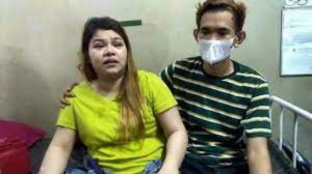 Tak terbukti hamil, korban pemukulan oknum Satpol di Gowa dilaporkan ke polisi. (Int)
