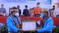 Wagub Sulsel Sudirman Sulaiman mengapresiasi komitmen Bupati Takalar Syamsari dalam memulihkan ekonomi nasional, Rabu 10 Februari 2021. (Ist)