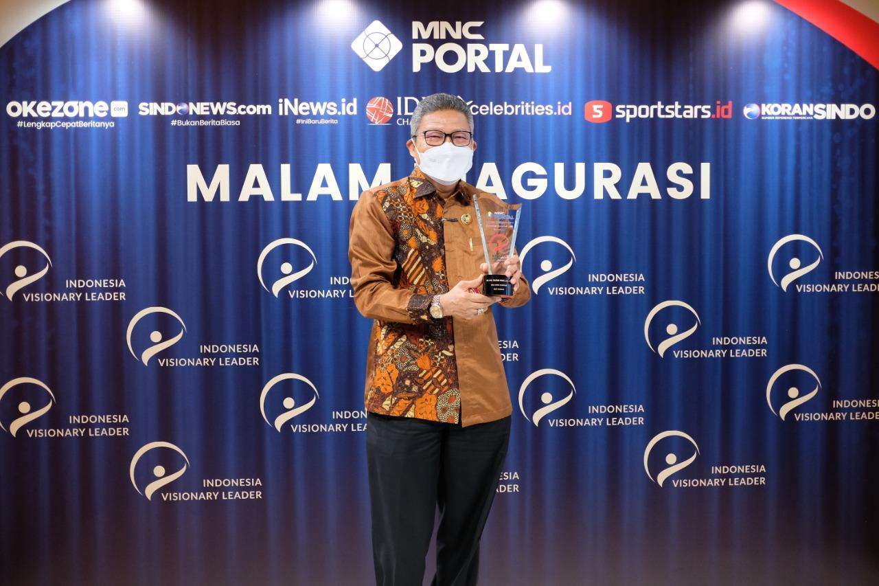 Walikota Parepare Taufan Pawe kembali meraih penghargaan nasional. (Ist)